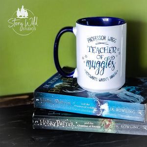 Teacher of Muggles - Harry Potter 15 oz Mug