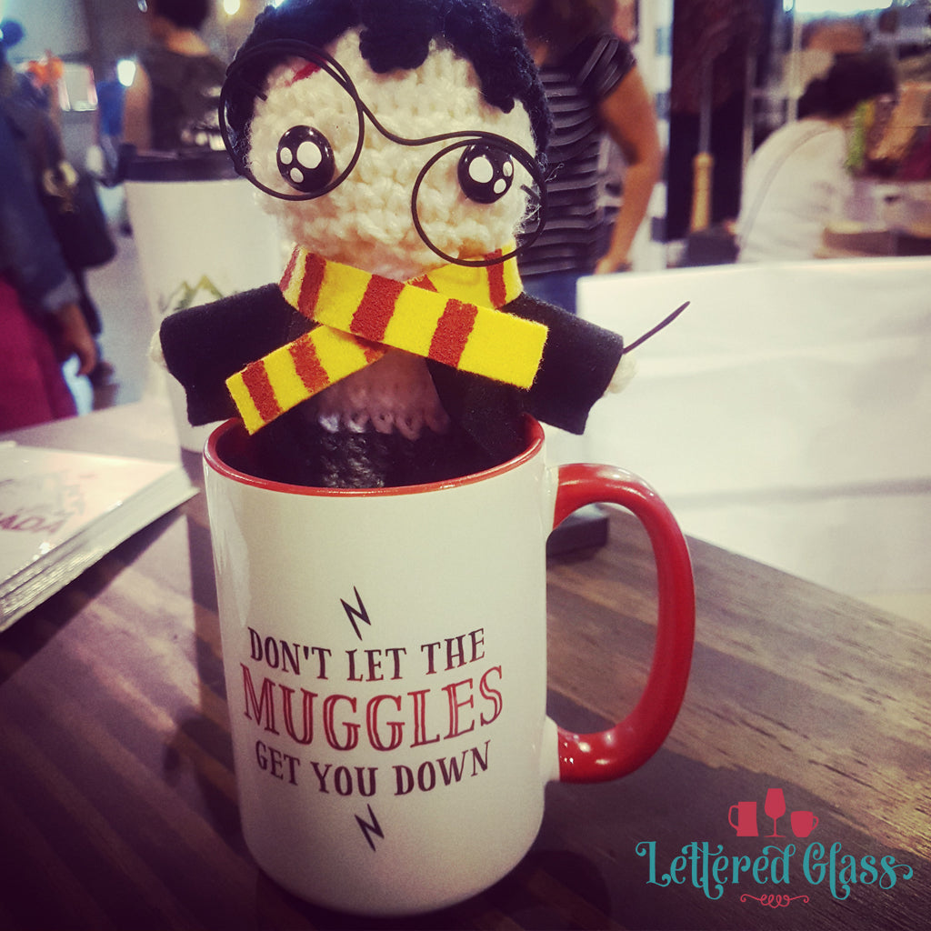 Don't Let the Muggles Get You Down - Harry Potter 15 oz Mug