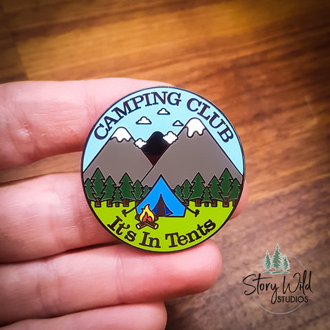 Camping Club - Enamel Pin