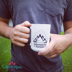 Adventure Awaits! 15 oz Mug