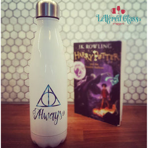 Always, Deathly Hallows Harry Potter 17 oz Water Bottle