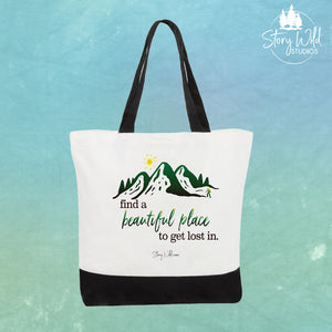 Find a Beautiful place - Two Toned Tote