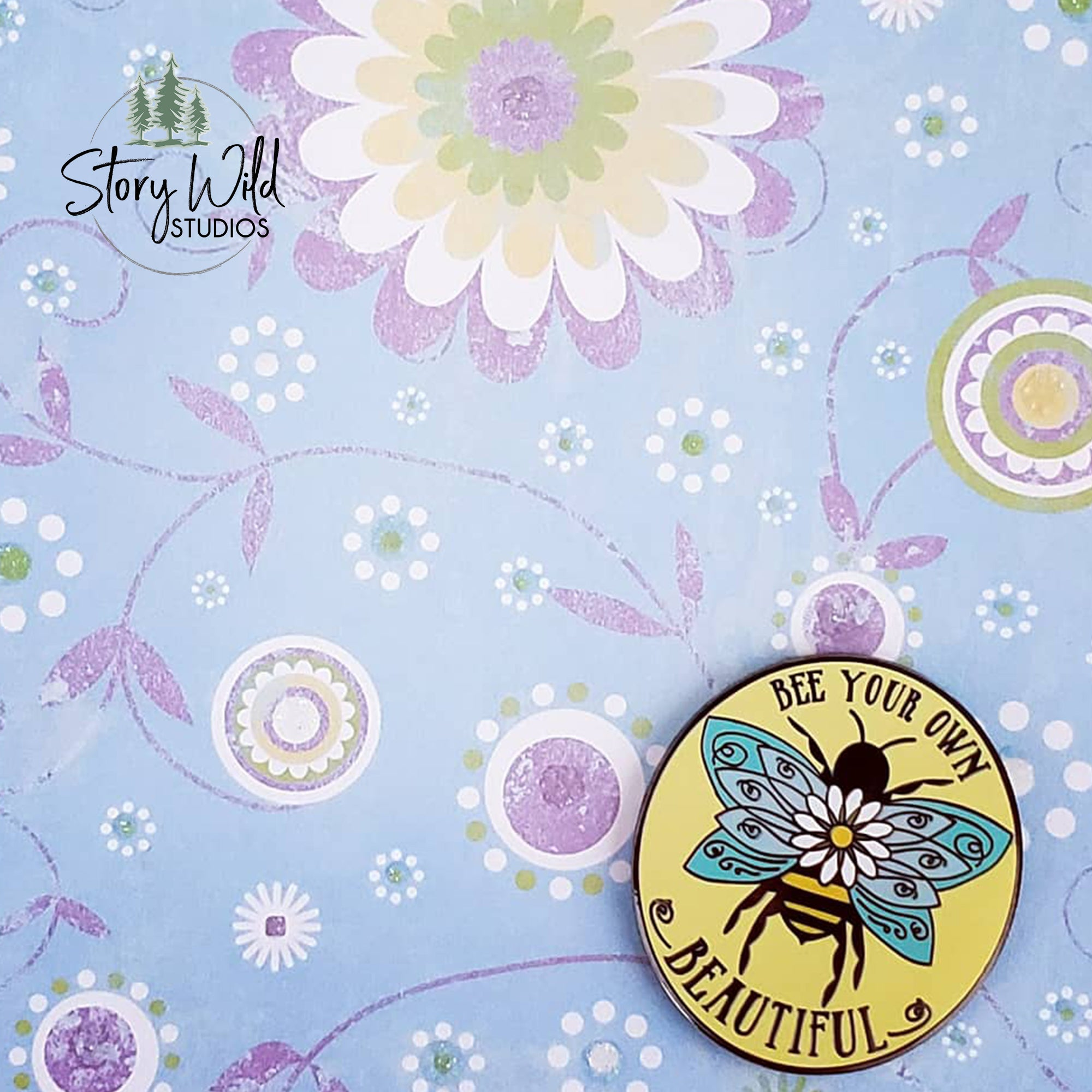 Bee - Your Own - Beautiful - Hard Enamel Pin