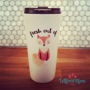 Fresh Out of Fox 16 oz  Travel Mug