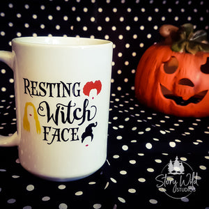 Hocus Pocus - Resting Witch Face 15 oz Mug
