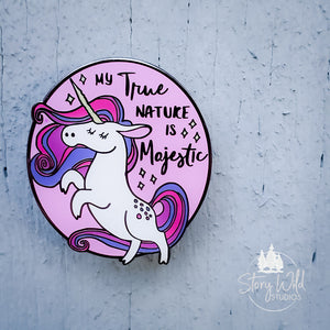 Unicorn True Majestic - A Hard Enamel Pin