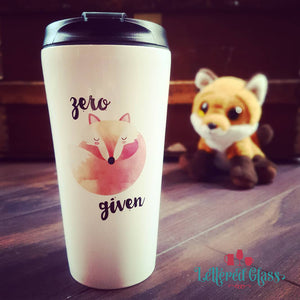 Zero Fox Given 16 oz Travel Mug