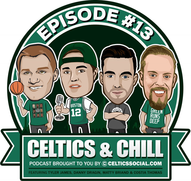 "Celtics and Chill Podcast Episode #13 - The Celtics vs Jazz + Jaylen vs Jae, Celtics ""Where Are They Now"", and Rozier vs Smart!"