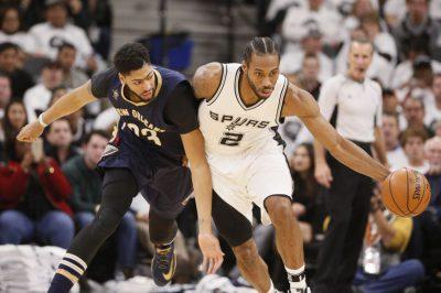 Either Kawhi Leonard or Anthony Davis Will be in a Celtics Jersey Next Season