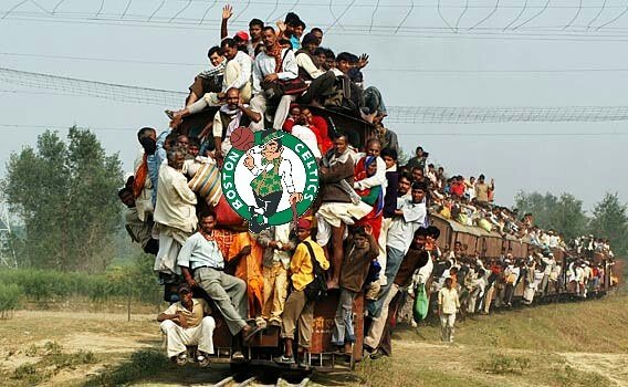 Celtics Train is Leaving the Station and There's No Room for a Bandwagon