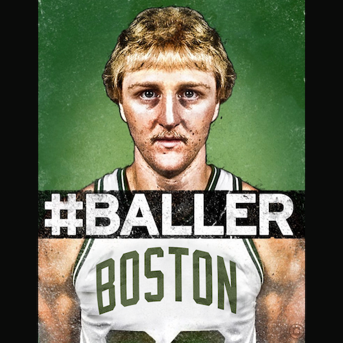 Bird Boston #BALLER Shirt