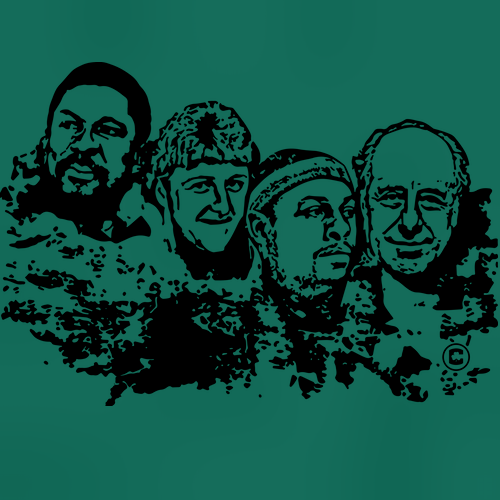 Boston Basketball Mt Rushmore Shirt