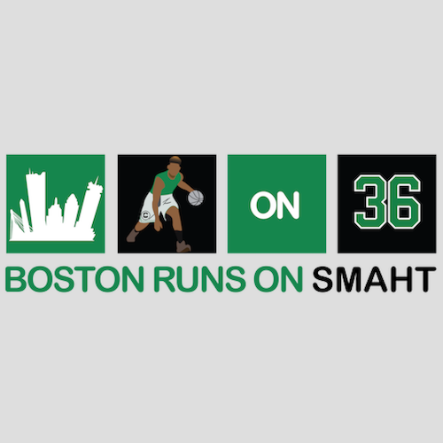 Boston Runs on SMAHT Shirt