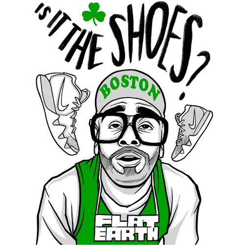 Is it the Shoes?! Kyrie Flat Earth (MJ Tribute) T-Shirt & Longsleeve