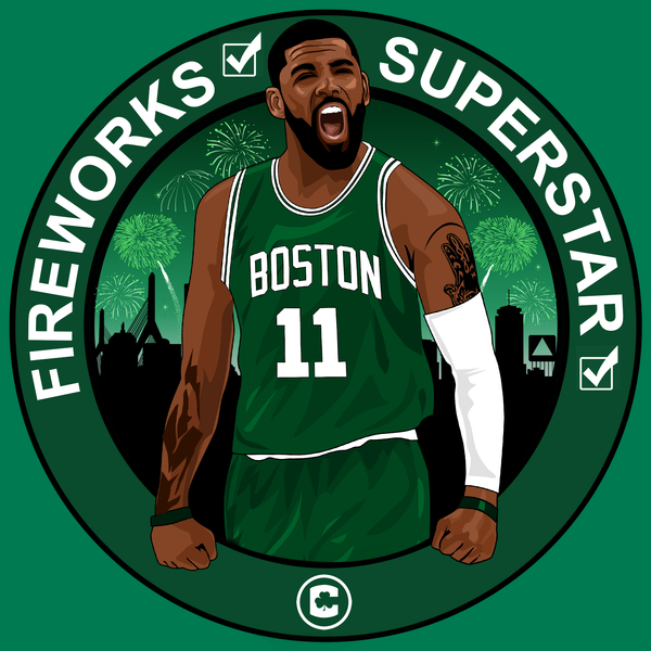 Welcome Kyrie (Boston Fireworks & Superstar) Shirt