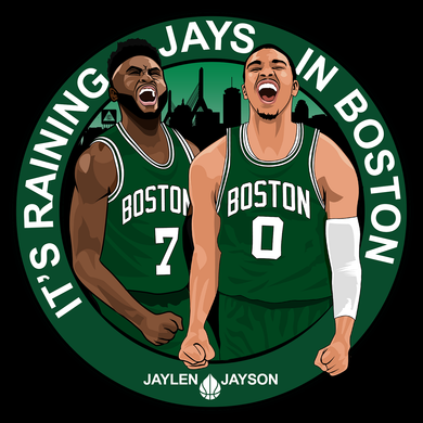 It's Raining JAYS in Boston Tee Shirt