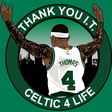 Thank You I.T. (Celtic 4 Life) Tribute Shirt