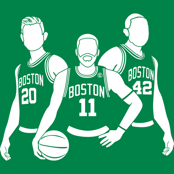 The NEW Boston Big 3 (Gordon Kyrie & Al) Shirt
