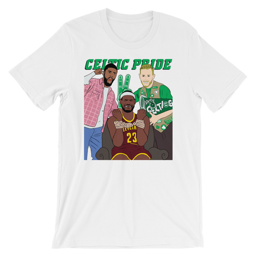 Celtic Pride Movie Cover (Kyrie/Hayward/LeBron) Shirt