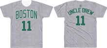 "Kyrie ""Uncle Drew"" City Edition Court (Nickname & Number) All-Over T-Shirt"