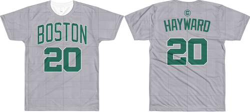 G. Hayward #20 City Edition Court (Name & Number) All-Over T-Shirt