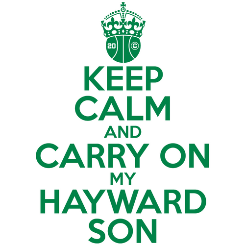 Keep Calm and Carry On My Hayward Son Shirt