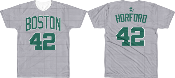 A. Horford #42 City Edition Court (Name & Number) All-Over T-Shirt