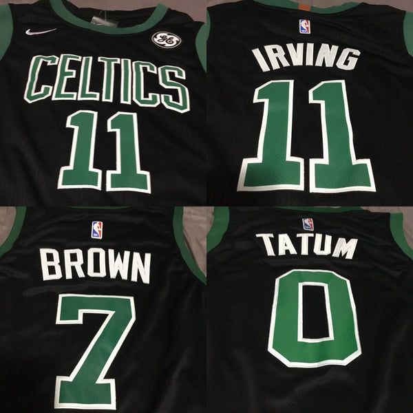 Boston Statement Replica Swingman Jerseys (IRVING, TATUM, BROWN, HAYWARD)
