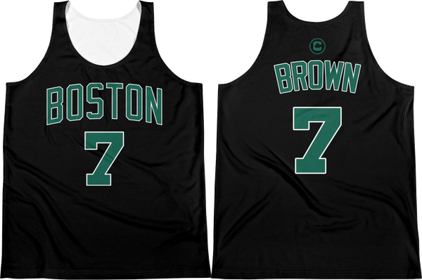 J. Brown #7 Custom Statement Jersey Tank Top