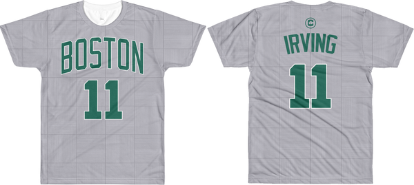 K. Irving #11 City Edition Court Name & Number All-Over T-Shirt