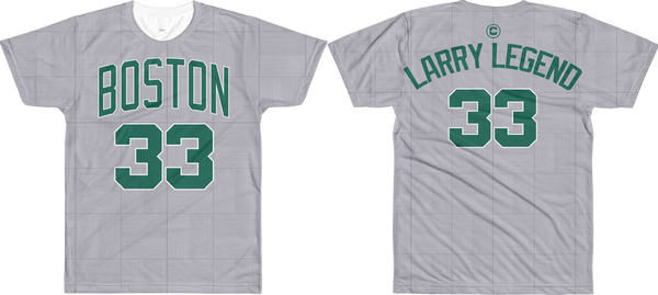 Larry Legend #33 City Edition Court (Nickname & Number) All-Over T-Shirt
