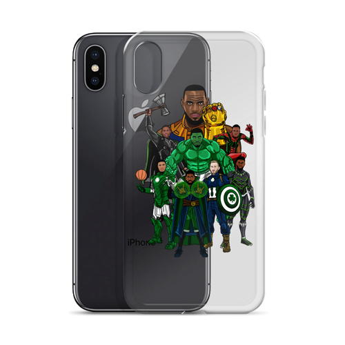 Boston Avengers (Beat LeBronos) iPhone Case