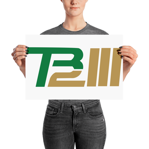 TR 12 III (Rozier TB12 Logo) Poster