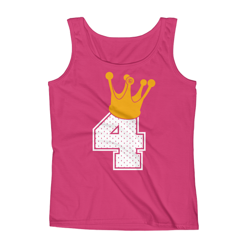 King IT4 Crown Ladies' Tank Top