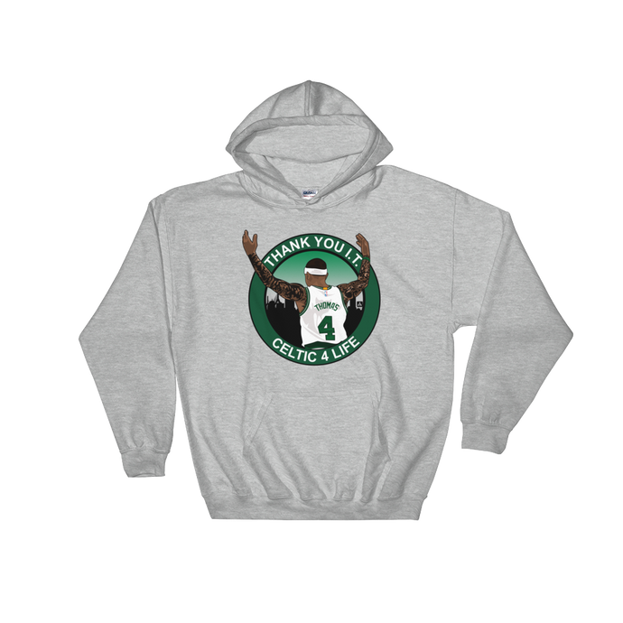 Thank You I.T. (Celtic 4 Life) Tribute Hooded Sweatshirt
