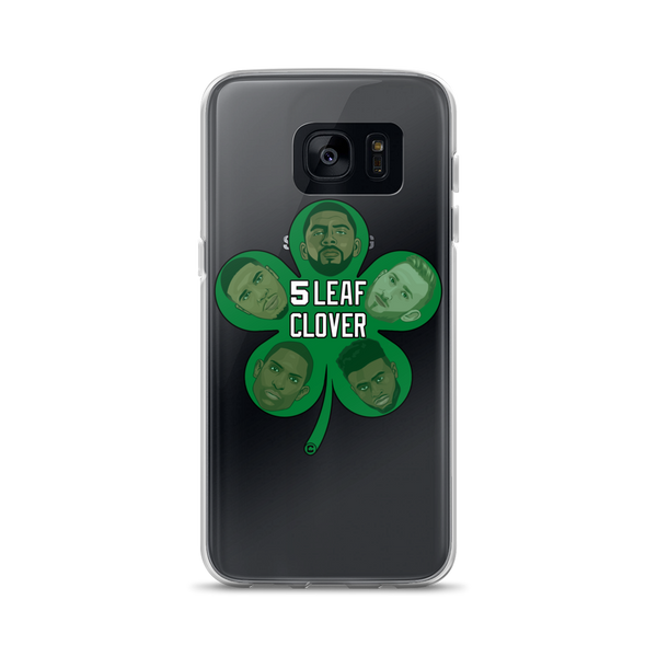 5 Leaf Clover Boston Starters Nickname Samsung Cases