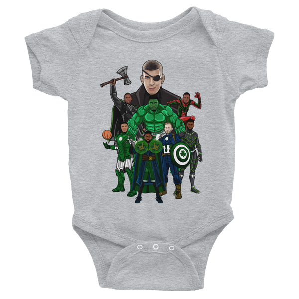 Brad's Avengers (The Sequel) Infant Bodysuit Onesies