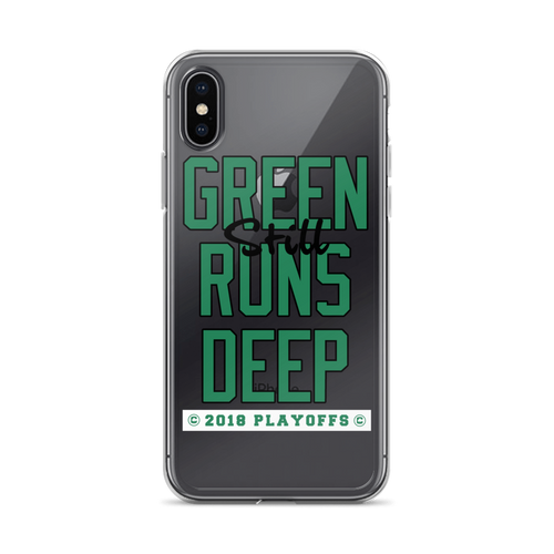 Green (Still) Runs Deep Playoff iPhone Case (ALL IPHONES)