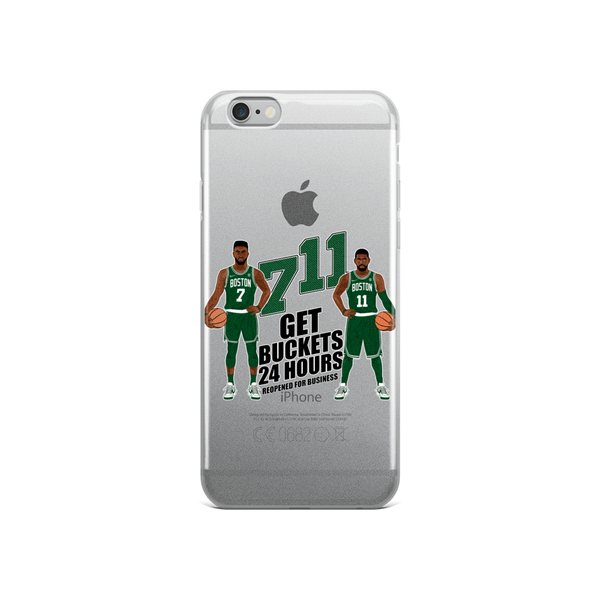 7/11 Get Buckets Reopened For Business (Kyrie & Jaylen) iPhone Case (ALL IPHONES)