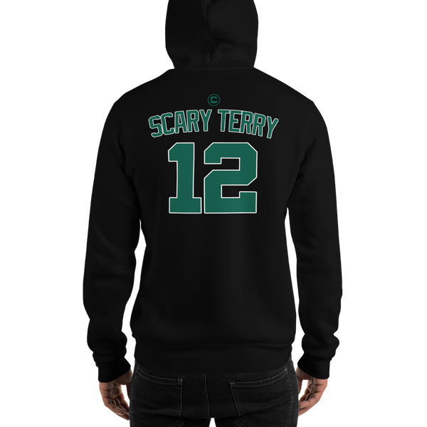 T. Rozier Scary Terry #12 Boston (Nickname & Number) Front & Back Hooded Sweatshirt