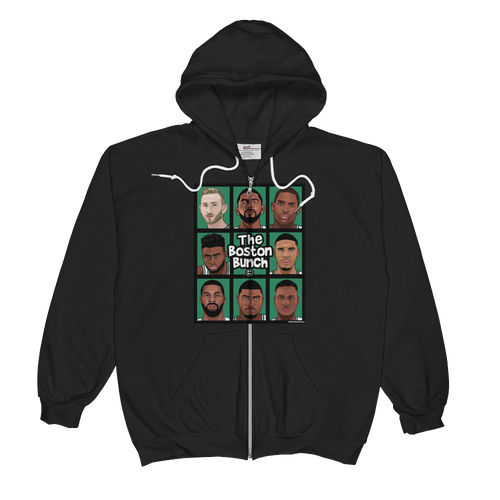 The Boston Bunch Unisex  Zip Hoodie Jacket