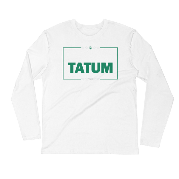 BROWN & TATUM (2020) Campaign Long Sleeve Fitted Crew