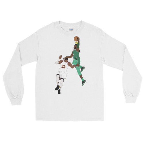 Jaylen Over LeBron (New King) Long Sleeve T-Shirt