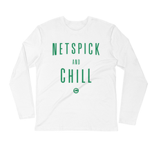 NetsPick and Chill Long Sleeve Fitted Crew