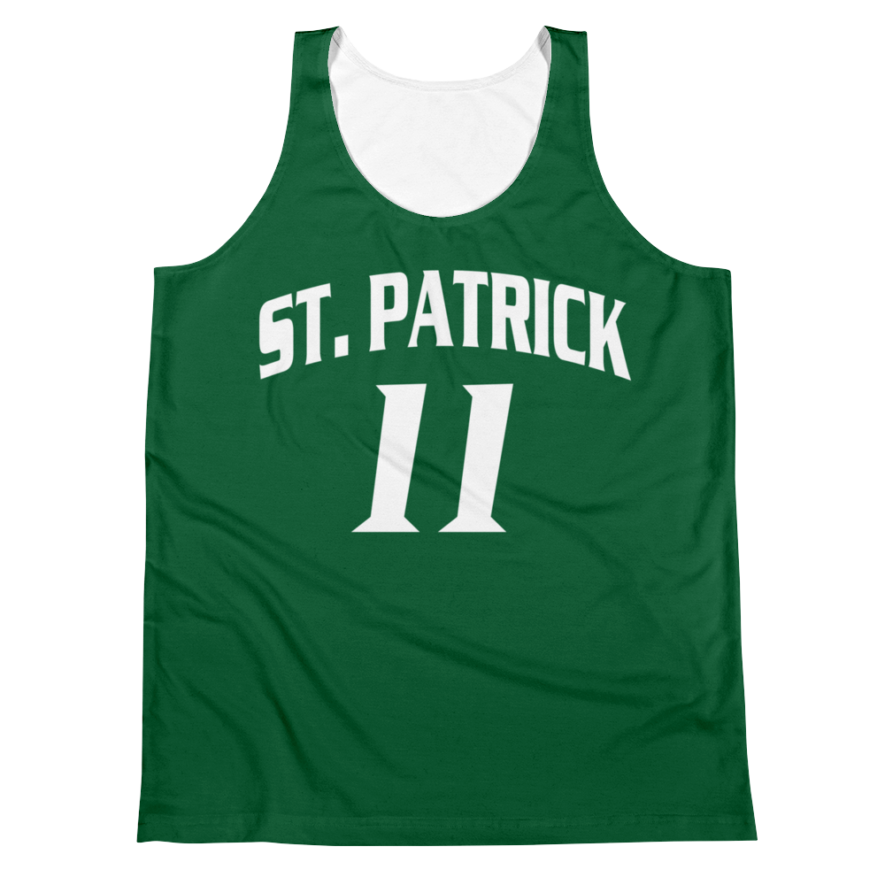Kyrie St. Patrick Highschool Jersey Tank Top