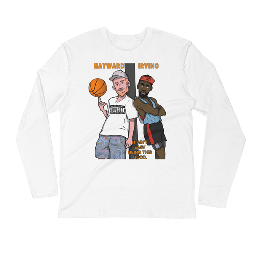 Irving & Hayward (White Men Can't Jump) Long Sleeve Fitted Crew
