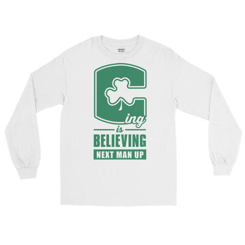 C-ing Is Believing (Next Man Up) Playoff Long Sleeve T-Shirt