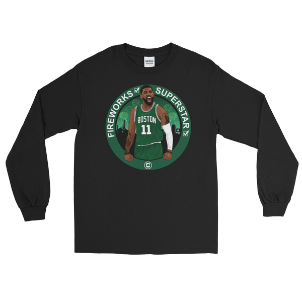 Welcome Kyrie (Boston Fireworks & Superstar) Long Sleeve T-Shirt