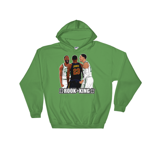 Tatum Over LeBron (Rook > King) Checkmate Hooded Sweatshirt