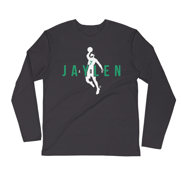 Air Jaylen Long Sleeve Fitted Crew